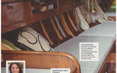Bravade  Interieur in blad Zeilen